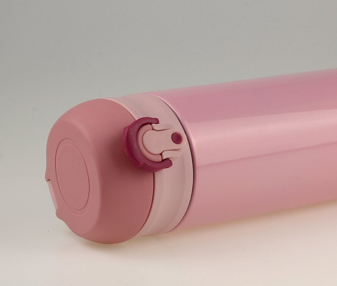 Steel-Thermos-350ml-Pink-Painted