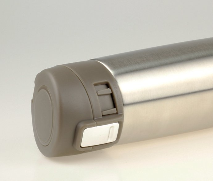 Travel-Thermos-Flask-350ml-Brushed-Silver