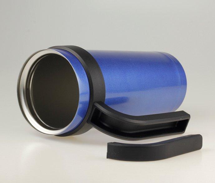 Insulated Travel Mug with Handle