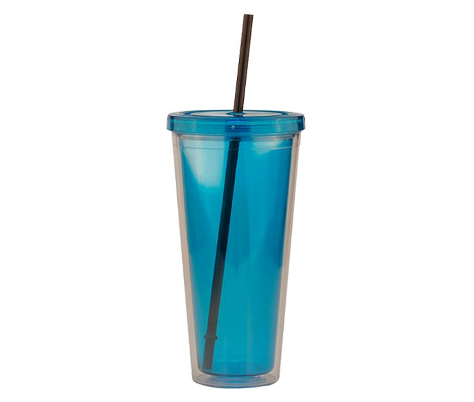 Clear-Tumbler-With_Lid-And-Straw