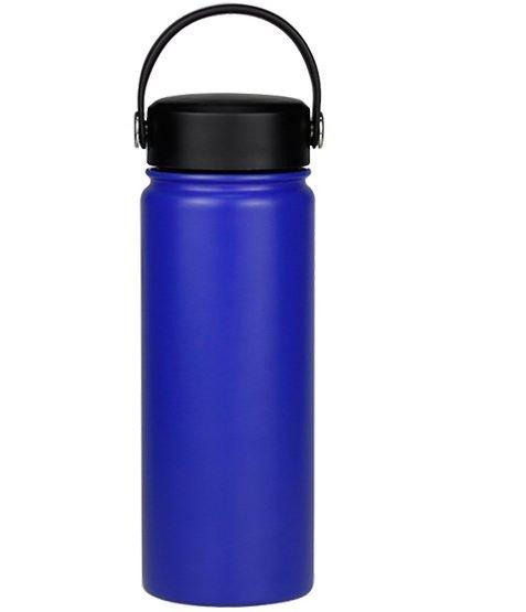 Blue hydro flask bottle