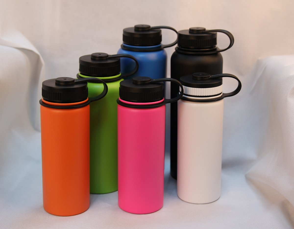 Figure 3 Different colors of painted hydro flask