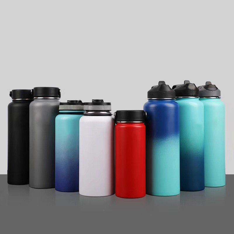 Different sizes of hydro flask water bottle