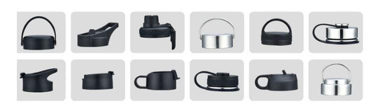 Cap design for multicolor hydro flask