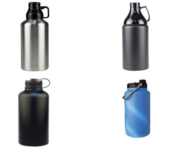 Hydro flask growler with handle