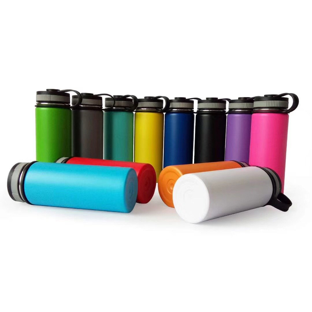 Different colors of custom hydro flask